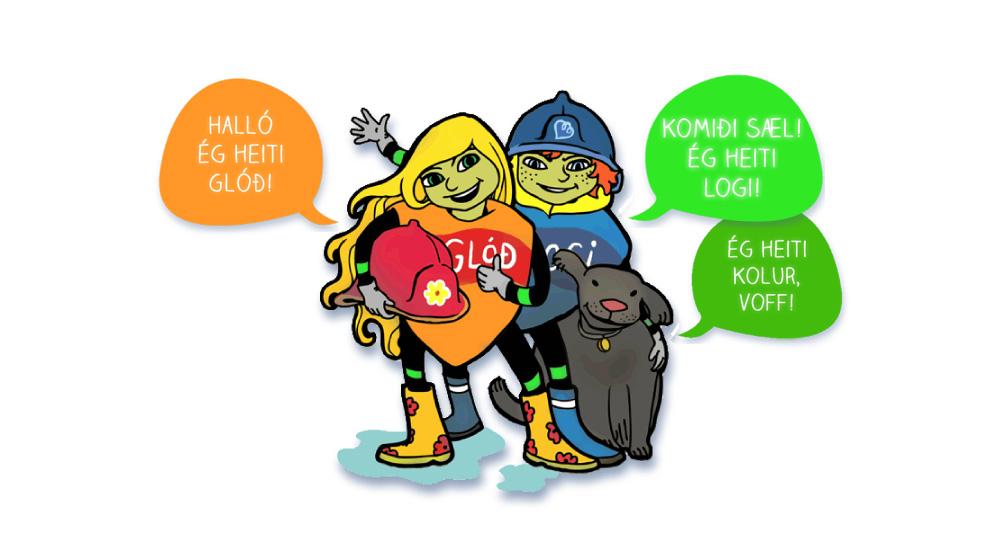 Logi_og_Glod_vefur